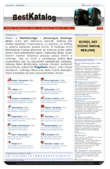 Zrzut ekranu katalogu stron http://bestkatalog.316.pl