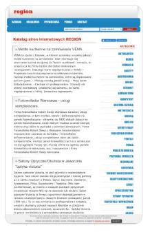Zrzut ekranu katalogu stron http://katalog.region.com.pl